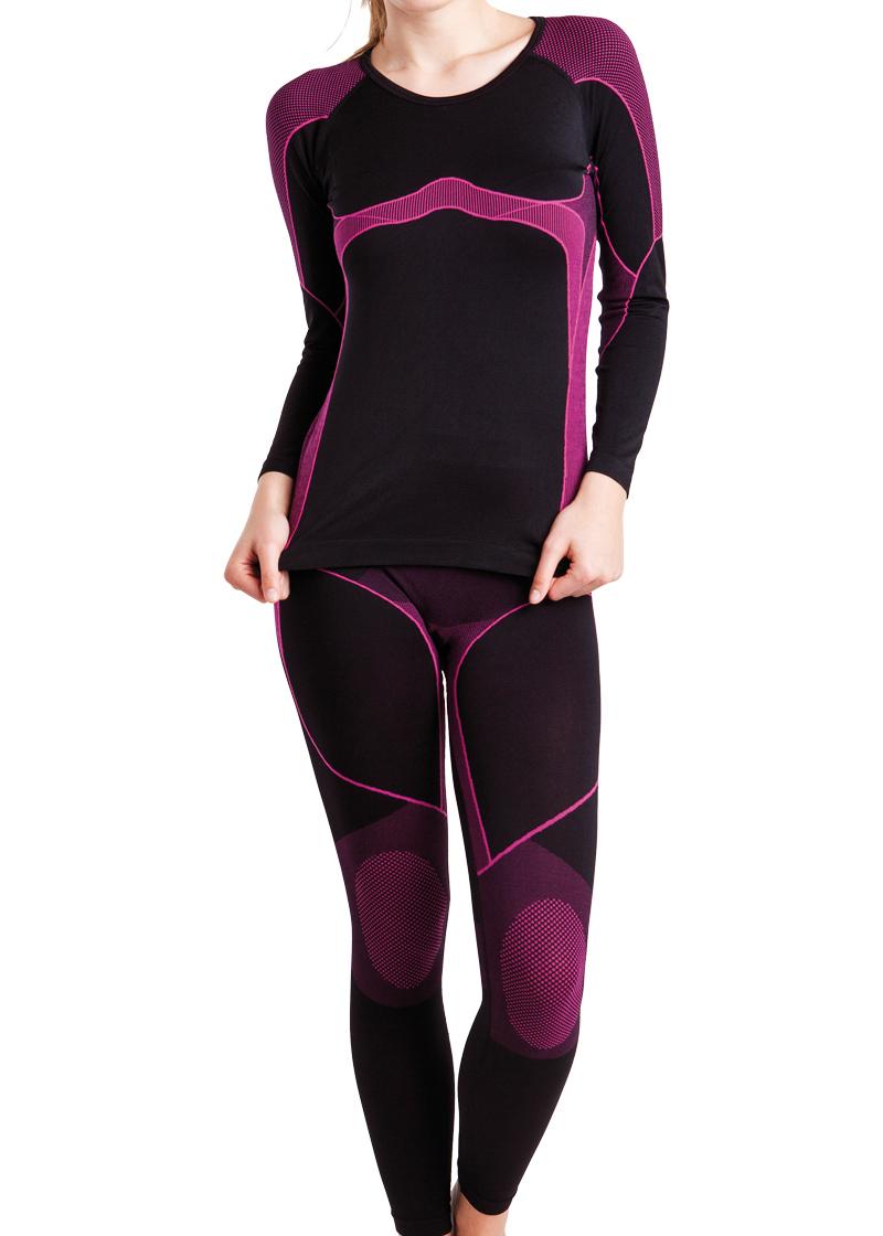 7f5e06e0da33fd Details zu Damen Ski Funktions Thermo Unterwäsche-Set - Hemd und Hose v.  Gomati - S M L XL