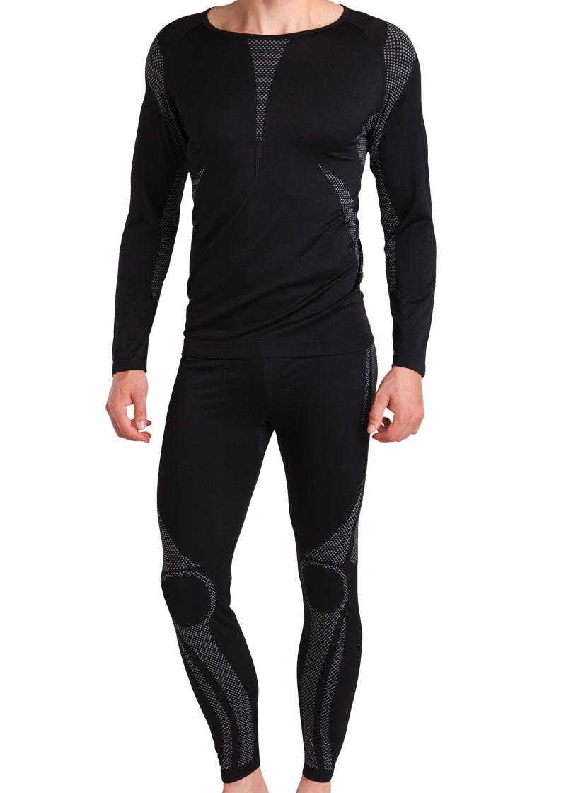 4ed923f590bf28 Details zu Gomati Herren Ski Funktions Thermo Unterwäsche Set - Hemd und  Hose - S M L XL