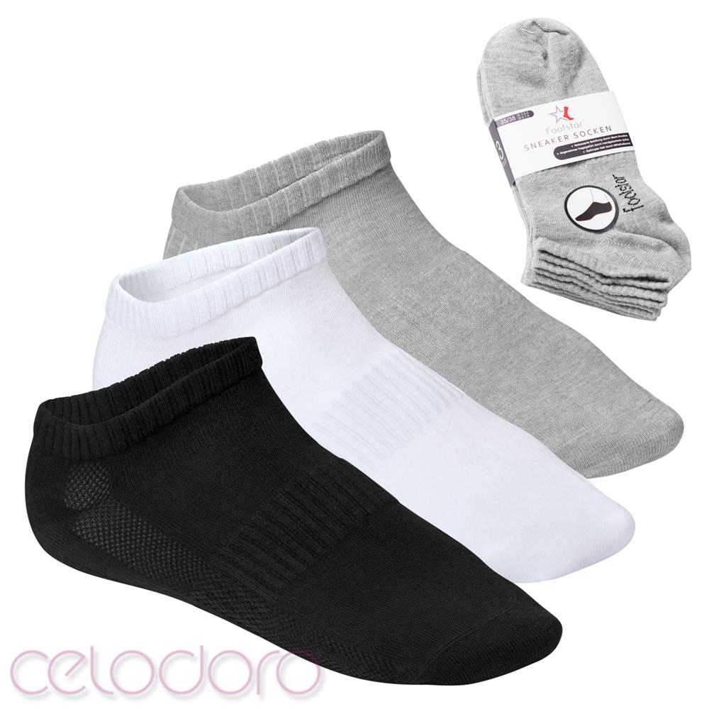 8 Paar Herren Sport XXL Sneaker Socken Übergrößen 47-50 Oversize XX Large