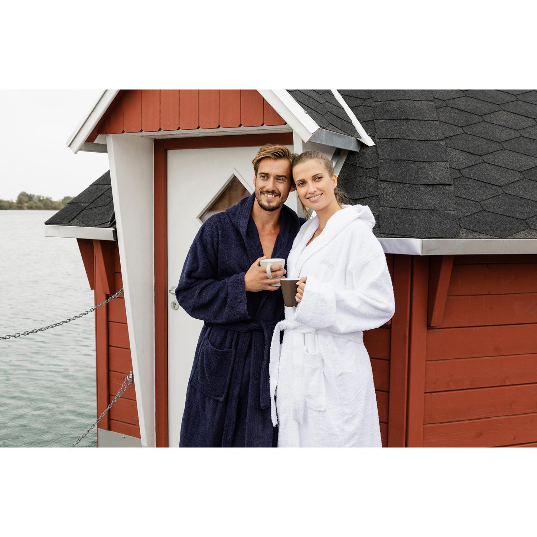 OAHOO Damen /& Herren Bademantel Saunamantel Morgenmantel Baumwolle Kapuze