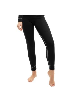 CFLEX Damen Ski- & Thermo Hose - warme Unterwäsche lang POLARDRY - Schwarz-Grau