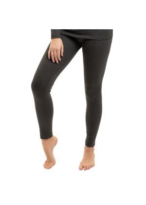 Gomati Damen Thermo Hose - warme Funktions Unterhose lang - Anthrazit