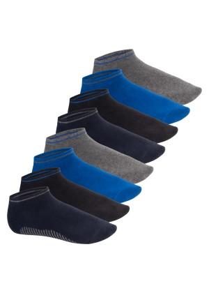 Celodoro Herren Sneaker Socken (8 Paar) - Jeanstöne