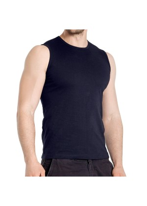3er Pack Herren Sleeveless Fit T-Shirt Celodoro Exclusive Deep Navy
