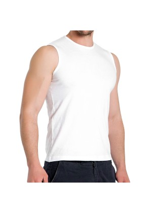 3er Pack Herren Sleeveless Fit T-Shirt Celodoro Exclusive Weiss