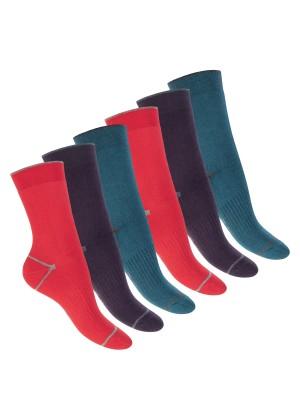 Footstar Damen und Herren Wintersocken (6 Paar), Warme Vollfrottee Socken mit Thermo Effekt -  Everyday! - Herbst