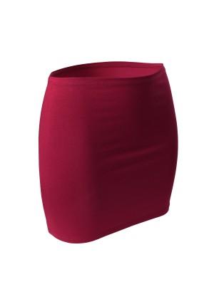 CFLEX Damen Variotube-Nierenwärmer, Shirtverlängerung, Minirock aus Baumwolle - Cerise