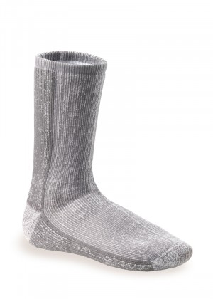 1 Paar THERMO ULTRA Thermosocken Grau-Melange hell