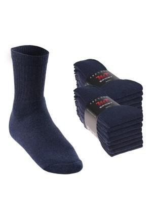 16 Paar MT® Sport- und Freizeitsocken Jeansblau