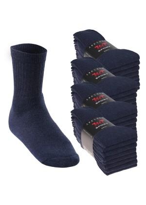 32 Paar MT® Sport- und Freizeitsocken Jeansblau