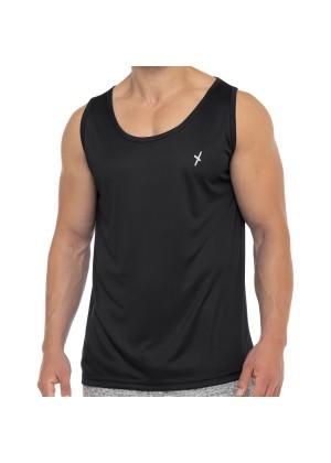 CFLEX Herren Sport Shirt Fitness Tanktop Sportswear Collection - Schwarz