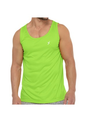 CFLEX Herren Sport Shirt Fitness Tanktop Sportswear Collection - Electric Green