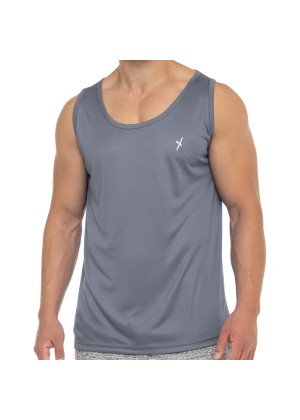 CFLEX Herren Sport Shirt Fitness Tanktop Sportswear Collection - Grau