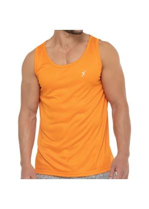 CFLEX Herren Sport Shirt Fitness Tanktop Sportswear Collection - Orange
