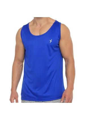 CFLEX Herren Sport Shirt Fitness Tanktop Sportswear Collection - Royal