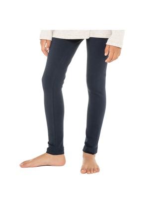 Celodoro Kinder Leggings, stretchige Jersey Hose aus Baumwolle - Dunkelblau