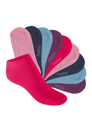 Footstar Kinder Sneaker Socken (10 Paar) - Sneak it! - Sweet Colours
