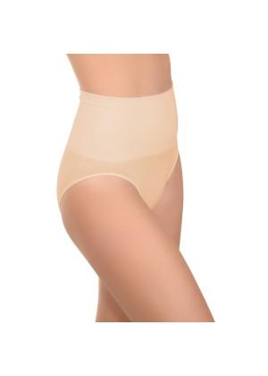 Celodoro Damen Form-Slip - Seamless Unterhose mit Shaping-Effekt - Nude