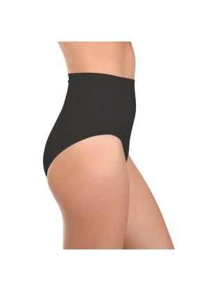 Celodoro Damen Form-Slip - Seamless Unterhose mit Shaping-Effekt - Schwarz