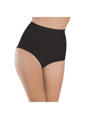 Damen Seamless Taillen-Form-Slip Schwarz