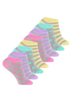 Footstar Kinder Sneaker Socken (8 Paar) Bunte Kurzsocken für Mädchen & Jungen - Pastelltöne
