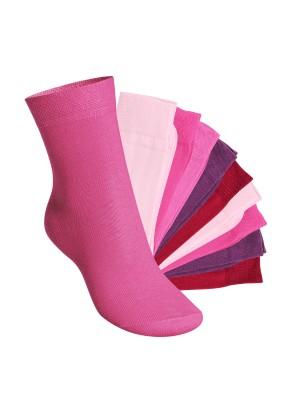 Footstar Kinder Socken (10 Paar) - Everyday! - Berrytöne