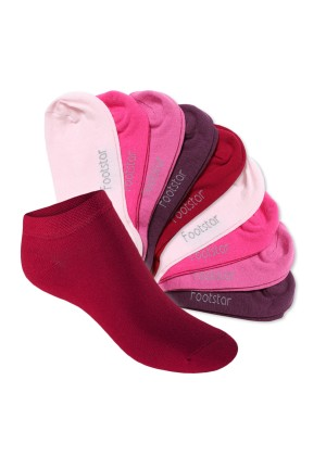 Footstar Kinder Sneaker Socken (10 Paar) - Sneak it! - Berrytöne