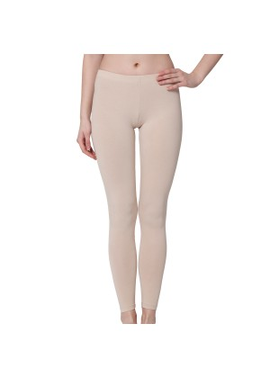 Damen Leggings Baumwolle - Beige