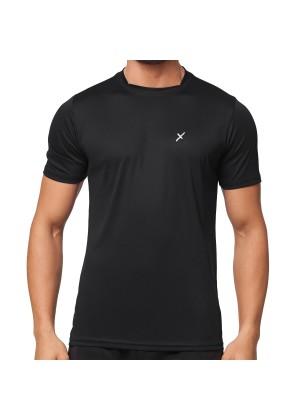 CFLEX Herren Sport Shirt Fitness T-Shirt Sportswear Collection - Schwarz