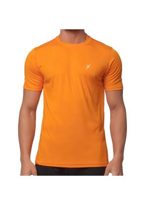 CFLEX Herren Sport Shirt Fitness T-Shirt Sportswear Collection - Orange