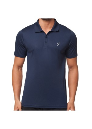 CFLEX Herren Sport Shirt Fitness Polo-Shirt Sportswear Collection - Navy