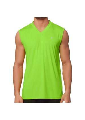 CFLEX Herren Sport Shirt Fitness Muscle-Shirt Sportswear Collection - Electric Green