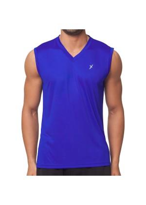 CFLEX Herren Sport Shirt Fitness Muscle-Shirt Sportswear Collection - Royal