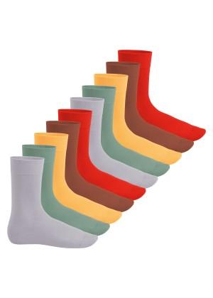 Footstar Herren & Damen Baumwollsocken (10 Paar), Klassische Socken aus Baumwolle - Everyday! - Urban Camouflage
