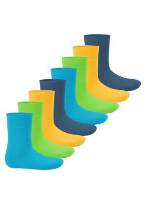 Footstar Kinder Wintersocken (8 Paar) - Everyday! - Trendfarben