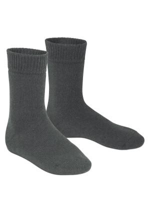 Footstar Damen und Herren Feet Heater Thermo Socken (1 Paar), Extra warme Winter Socken - Anthrazit