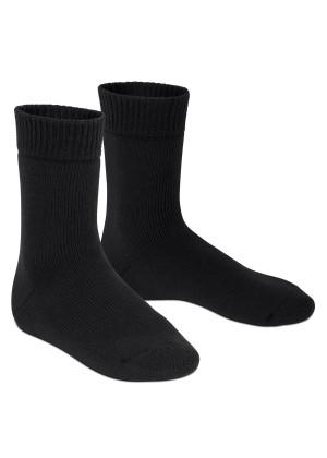 Footstar Damen und Herren Feet Heater Thermo Socken (1 Paar), Extra warme Winter Socken - Schwarz