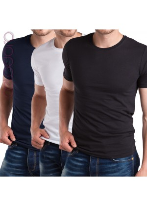 3er Pack Herren Fit T-Shirt Celodoro Exclusive im 3-Farb-Pack