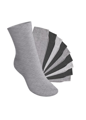 10 Paar EVERYDAY! KIDS Kinder Socken - Classic Grey