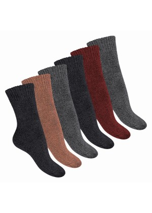 6 Paar Damen Thermo Socken