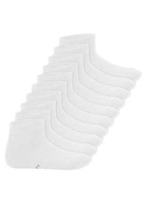 Footstar Kinder Kurzschaft Socken (10 Paar) - Sneak it! - Weiss