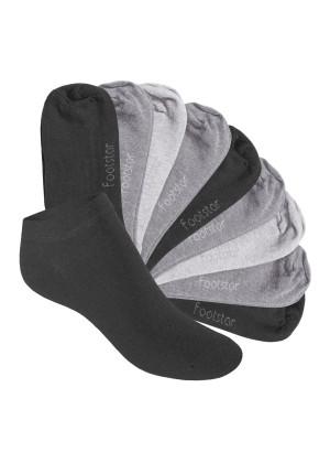 10 Paar SNEAK IT! KIDS Kinder Sneaker Socken - Classic Grey
