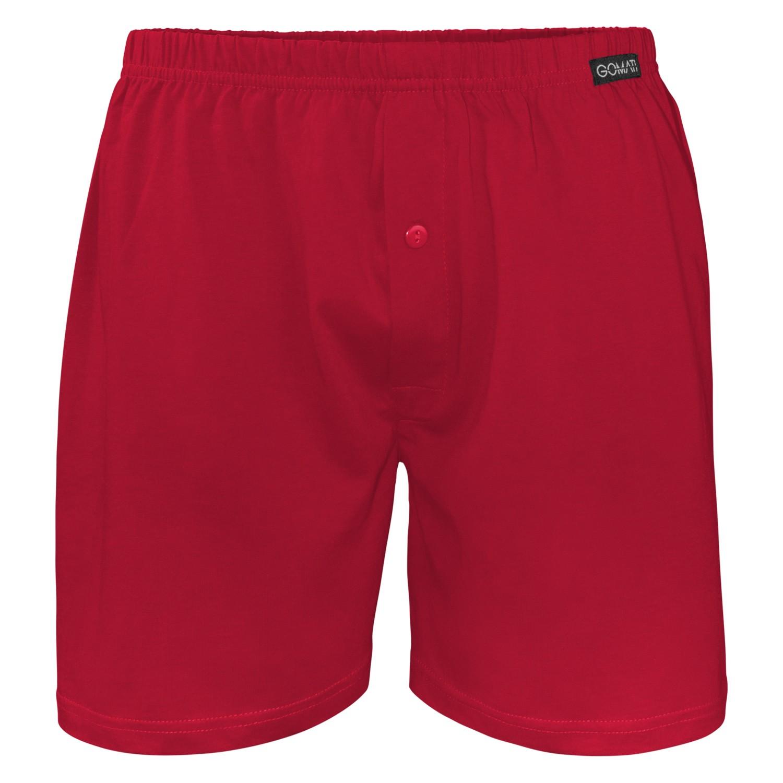 29fe5b9ec6 Herren Single Jersey Boxershorts Deep Red