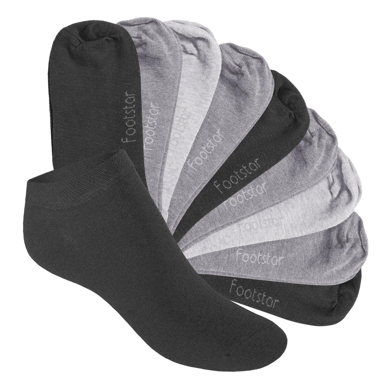 0cb33f4ed9b7b0 10 Paar SNEAK IT! KIDS Kinder Sneaker Socken - Classic Grey