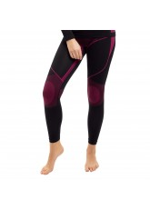 Gomati Damen Thermo Unterhose seamless Funktionswäsche schnelltrocknend - Pink