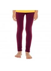 Celodoro Kinder Thermo Leggings (1 Stück) - warme Unterhose lang mit Innenfleece - Beere