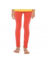 Celodoro Kinder Thermo Leggings (1 Stück) - warme Unterhose lang mit Innenfleece - Lachs
