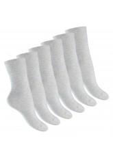 Footstar Damen Gesundheitssocken (6 Paar), Nahtfreie Diabetikersocken - Ecru