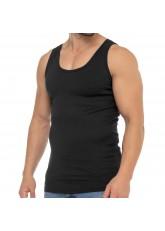 Celodoro Herren Business Tank Top (1 Stück), Achselhemd aus Baumwolle  - Schwarz