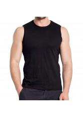 3er Pack Herren Sleeveless Fit T-Shirt Celodoro Exclusive Schwarz